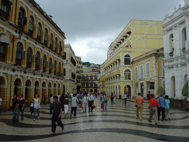 Main square in Macau